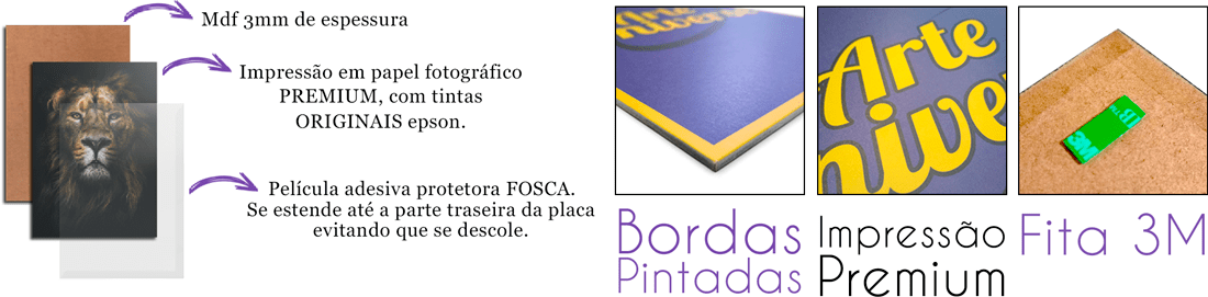 caracteristicas das placas decorativas