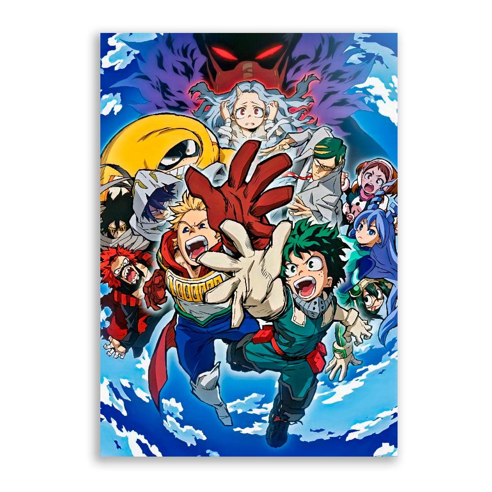 Quadro Boku no Hero Academia Poster 2