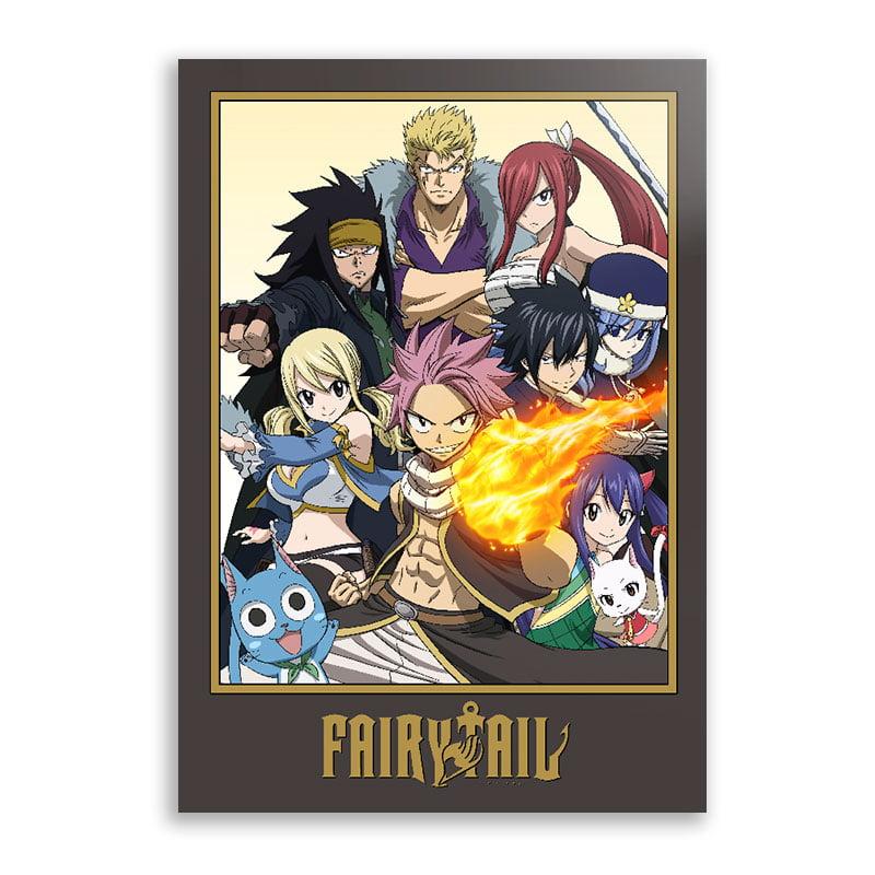 Quadro Fairy Tail Anime