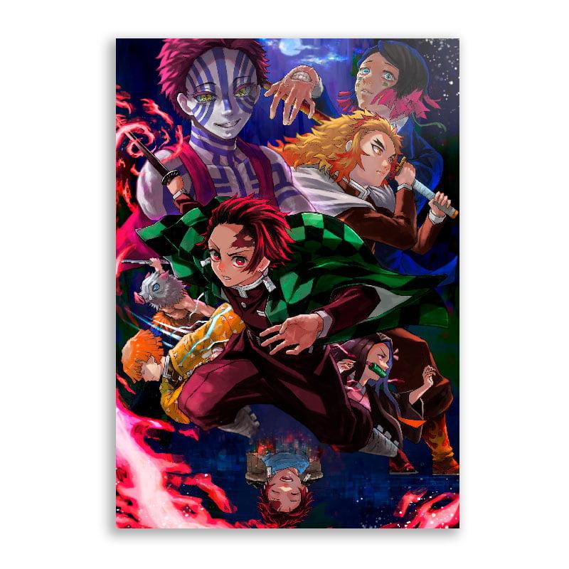 Quadro Demon Slayer poster Filme