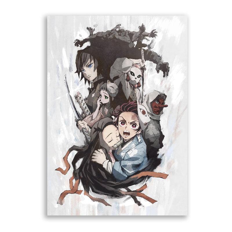Quadro Kimetsu no Yaiba poster anime