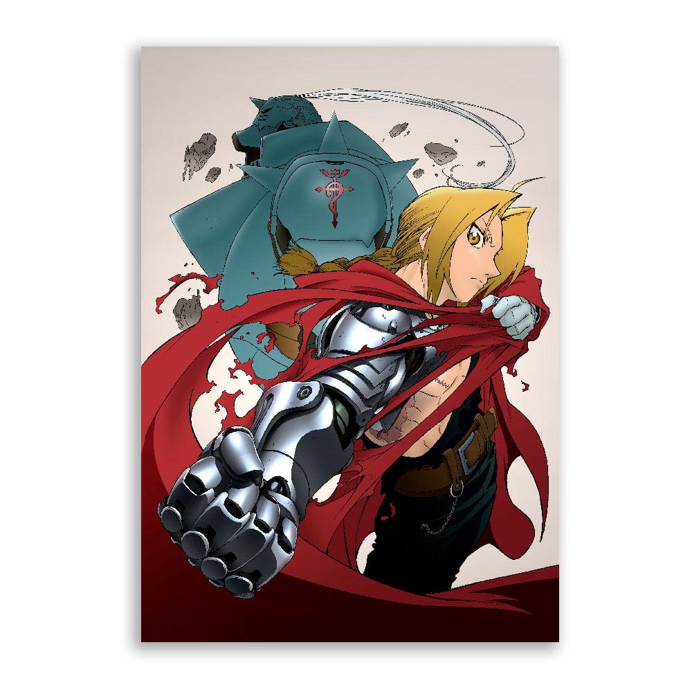 Quadro Fullmetal Alchemist Ed e al 2