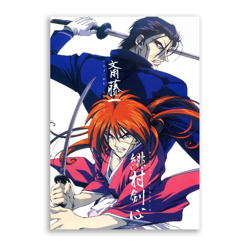 Quadro Kenshin Vs Hajime Saitou