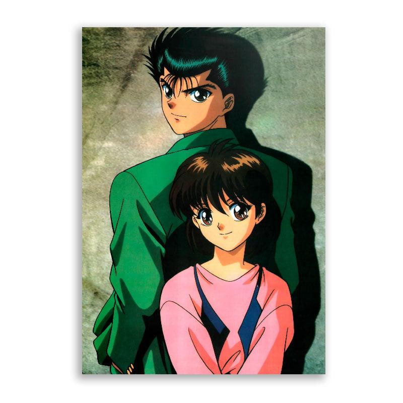 Quadro Yusuke e Keiko Yu Yu Hakusho