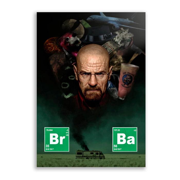 Quadro Breaking bad heisenberg