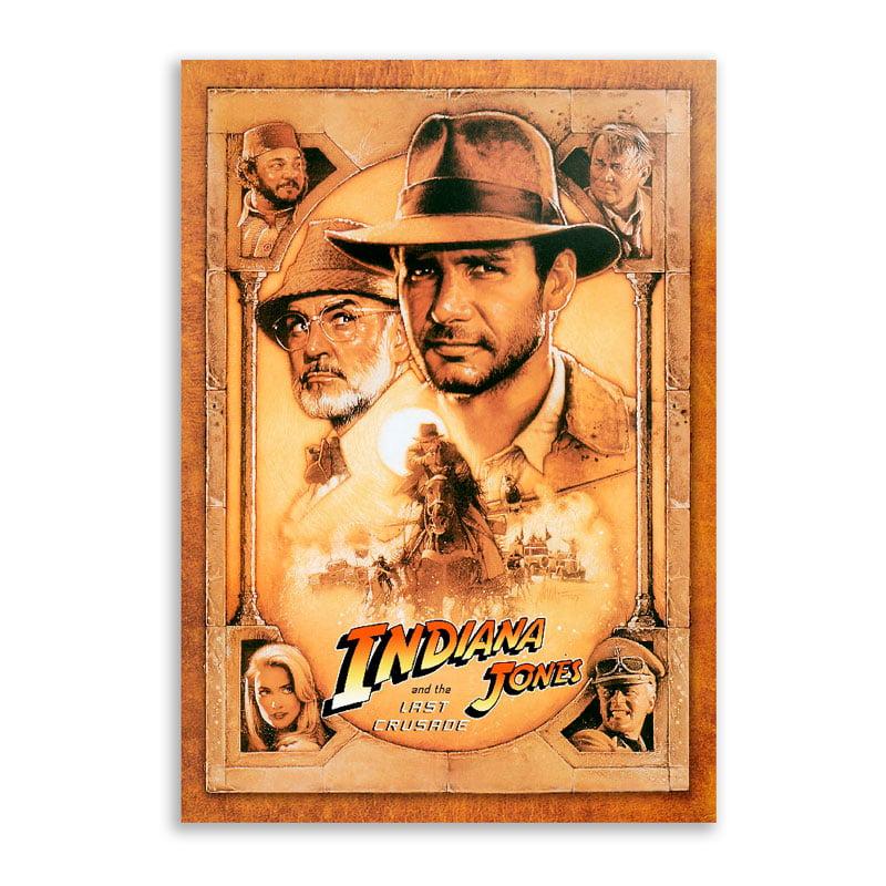 Quadro Indiana Jones E a ultima cruzada