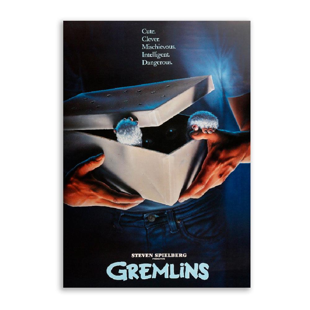 Quadro Gremlins poster