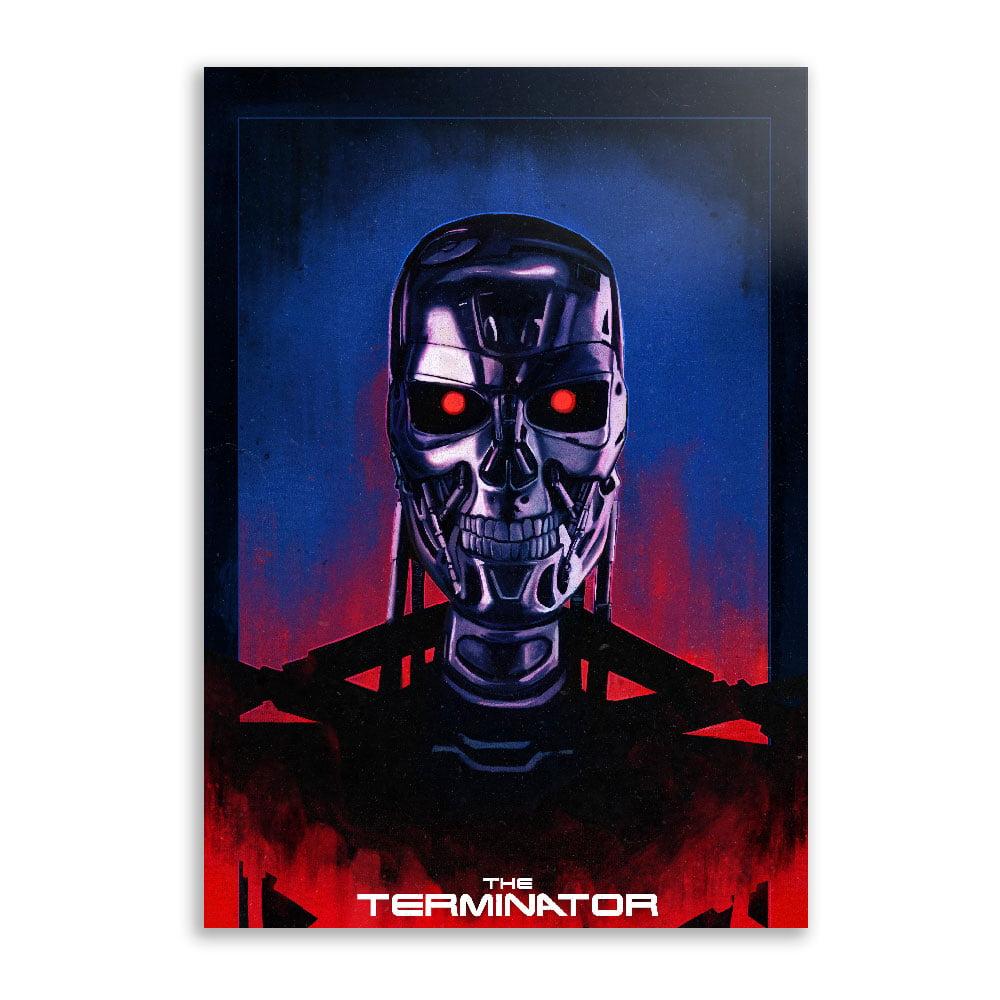 Quadro O exterminador do futuro skull