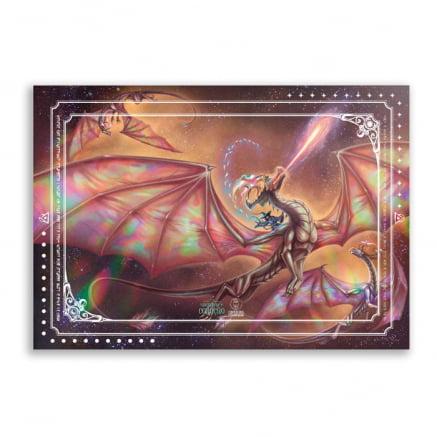 Quadro ou Placa Decorativa o designo do coração dragão 02 CDPA