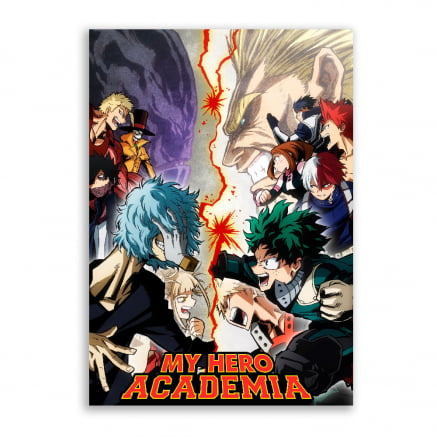 Quadro Boku no Hero Academia Poster