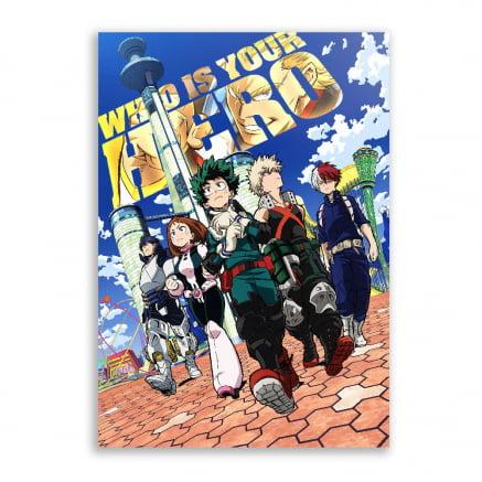 Quadro Boku no Hero Academia Poster 4