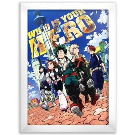 Quadro Boku no Hero Academia Poster 3