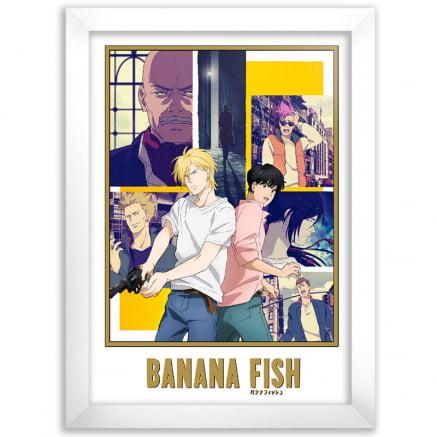 Quadro Banana Fish Anime