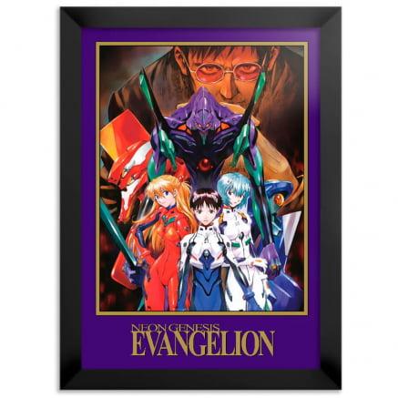 Quadro Evangelion Anime