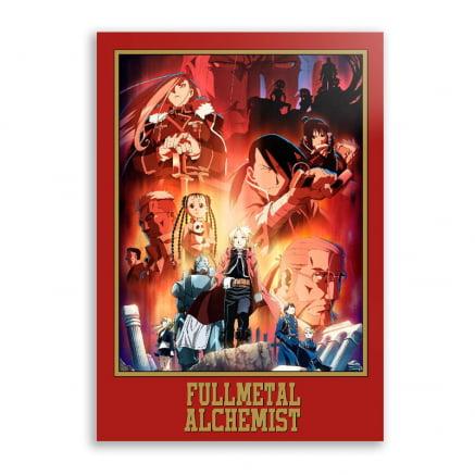 Quadro Fullmetal Alchemist Anime