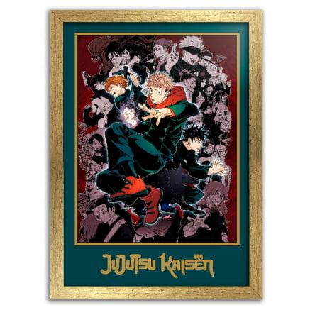 Quadro Jujutsu Kaisen Anime