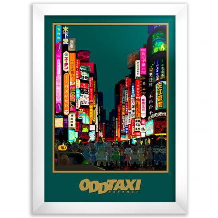 Quadro Odd Taxi Anime
