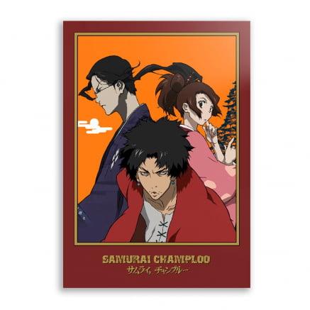 Quadro Samurai Champloo Anime
