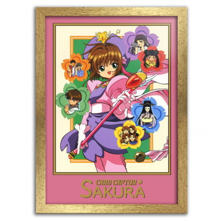 Quadro Sakura Card Captors Anime