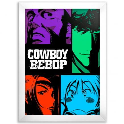 Quadro Cowboy Bebop Poster Cores