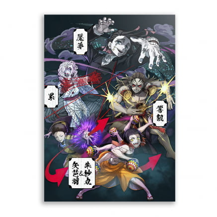Quadro Onis Demon Slayer