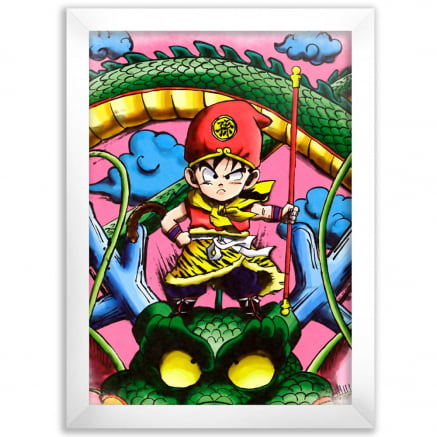 Quadro Kid Gohan Dragon Ball z