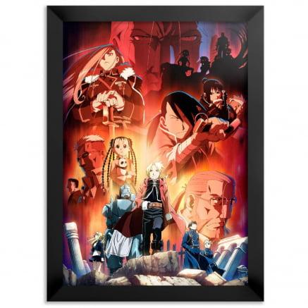 Quadro Fullmetal Alchemist Brotherhood Poster