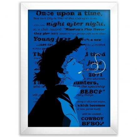 Quadro Blue Cowboy Bebop