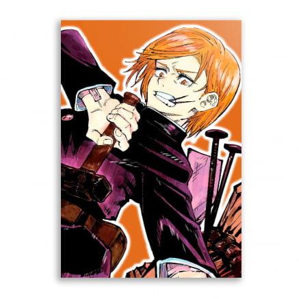 Quadro Personagem Nobara Kugisaki