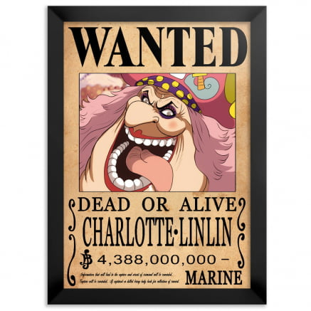Quadro one piece wanted Big Mom