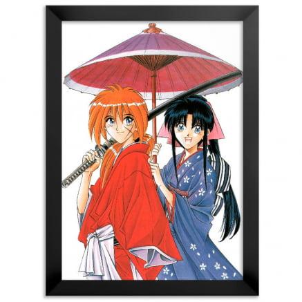 Quadro Kenshin e Kaoru