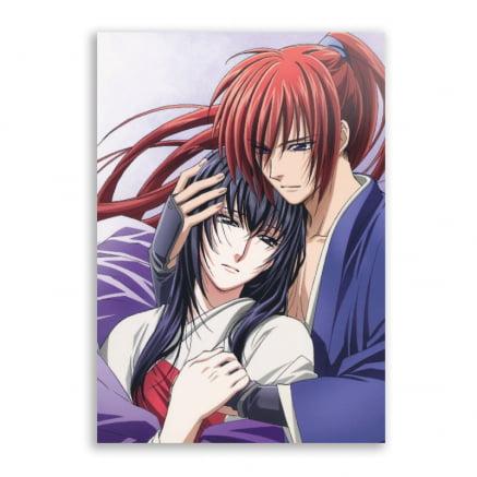 Quadro Kenshin Himura e Yukishiro Tomoe