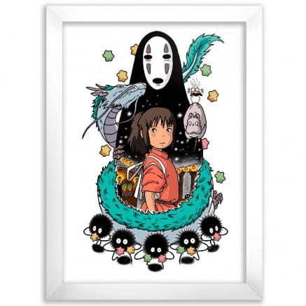 Quadro A viagem de Chihiro Arte 02