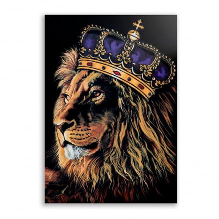 Quadro Leão Rei
