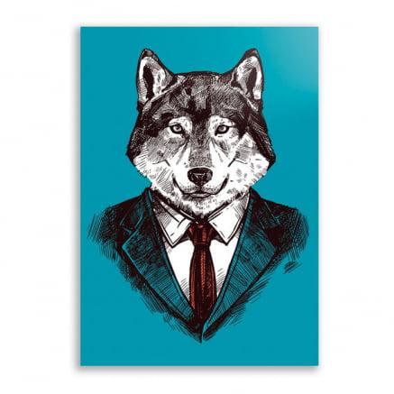 Quadro Lobo Empreendedor