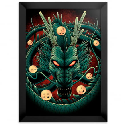 Quadro dragon ball shenlong