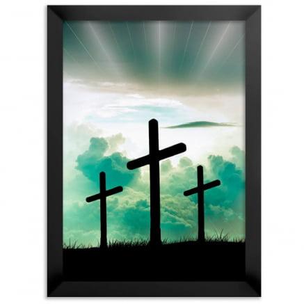 Quadro cruz do calvário