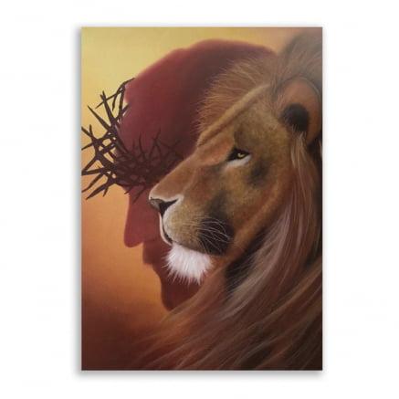 Quadro Jesus Leão de judá