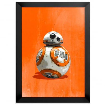 Quadro bb8 Star wars