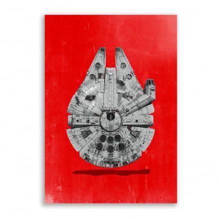 Quadro Millenium Falcon Star wars