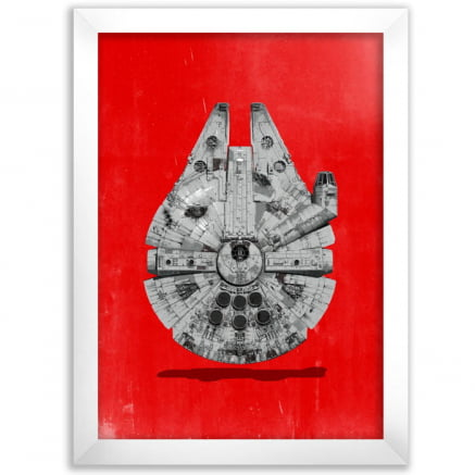 Quadro Millenium Falcon Star wars