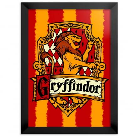Quadro Harry Potter Grifinória