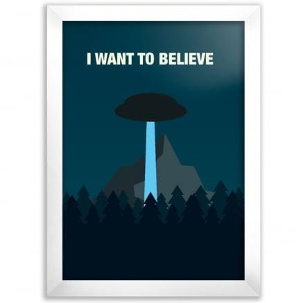 Quadro i want to believe