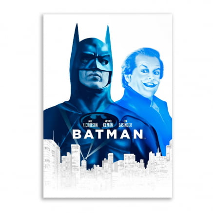 Quadro Batman azul