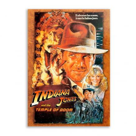 Quadro Indiana Jones e o templo perdido