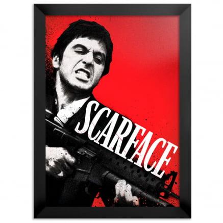 Quadro Scarface Tony Montana