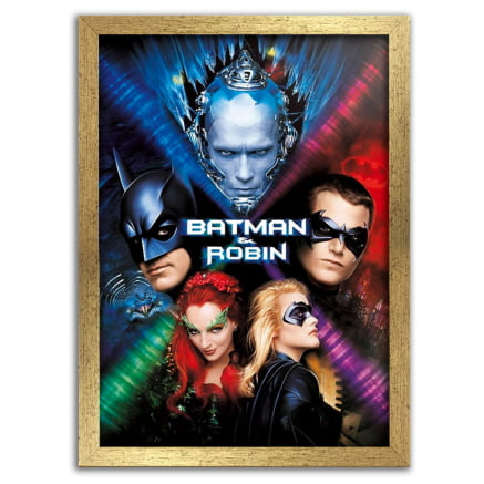 Quadro Batman e Robin poster