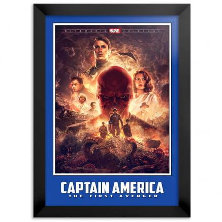Quadro Capitão América O Primeiro Vingador