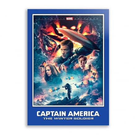 Quadro Capitão América o Soldado Invernal