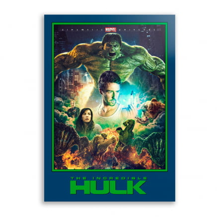 Quadro O Incrível Hulk